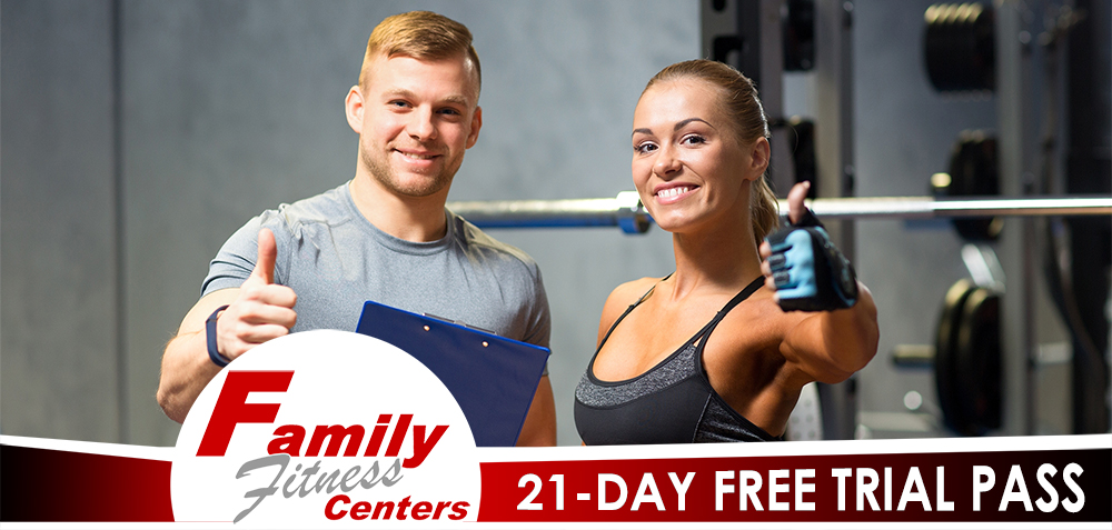 21-Day Free Trial Pass Promotion Page Image